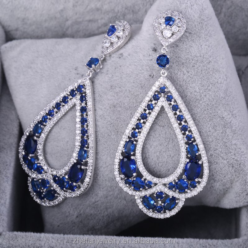 Latest hanging earrings party wear 2017 new design