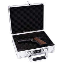 Aluminum Pistol Case with foam