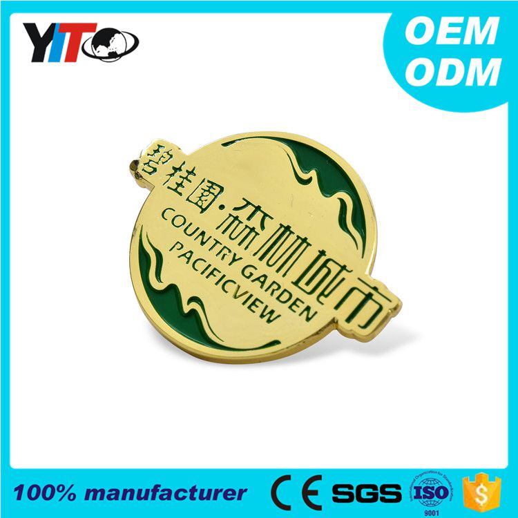 Free Design Wholesale High Quality Custom Metal Medal Military Army Lapel Pin Badges of Honor