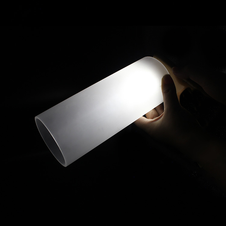 NAXILAI Best Sell Translucent Acrylic Plastic Pipe Frosted Acrylic <strong>Tube</strong> Frosted Tubing for Wall Lighting