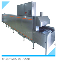Engineers overseas service available electric baking tunnel oven price