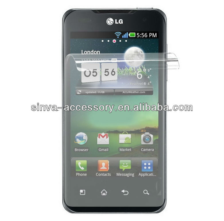 new arrival!anti-glare screen protector / screen guard / protective film for LG new chocolate BL 20