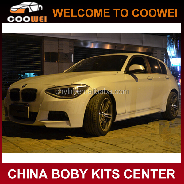 New 1 Series F20 Car Bumper M TECH Body Kit For BMW F20 2012-2014