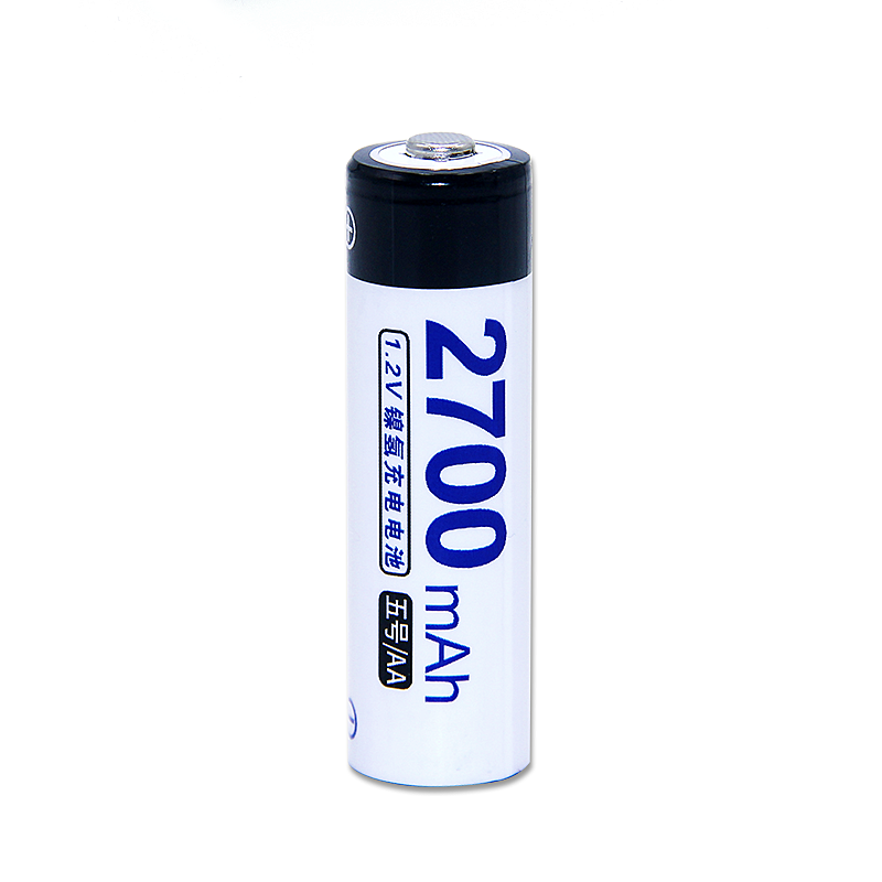 Shenzhen 1.2v 2700mah nimh aa rechargeable battery