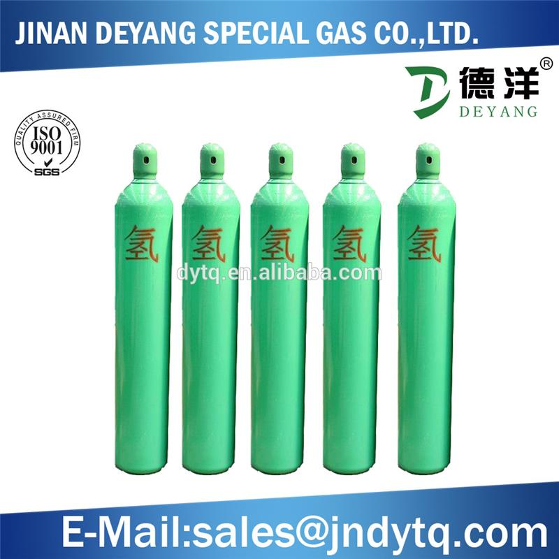 40L 50L high pressure empty hydrogen gas cylinder price factory price for sale