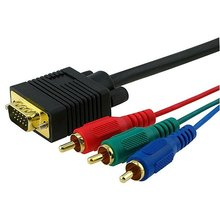VGA to RCA splitter manufacturers, vga to coaxial cable suppliers, male vga to male rca exporters