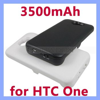 Battery Charger Case for HTC One X Backup Battery Power Bank 3500mAh