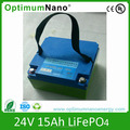 lithium ion 24v 15Ah battery packs