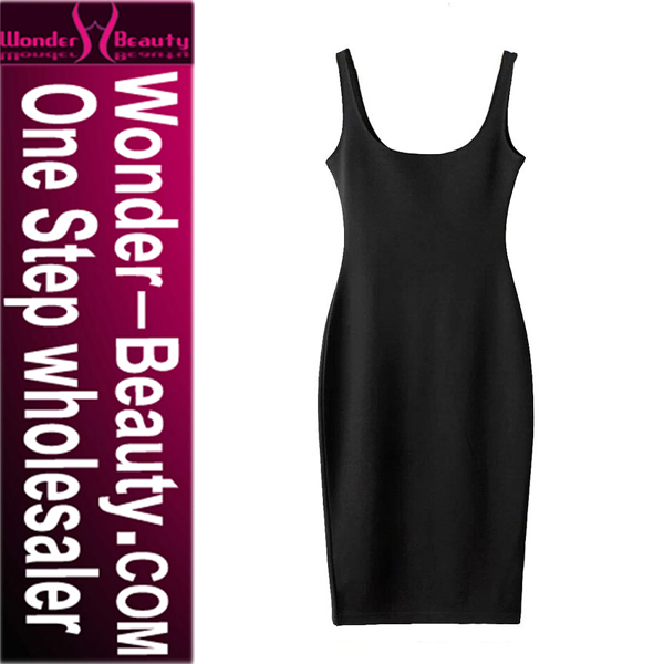Wholesale Hot Fashion Black Exquisite Mature Women Cocktail Dress