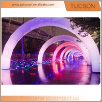 custom logo inflatable led arch for advertising for sale