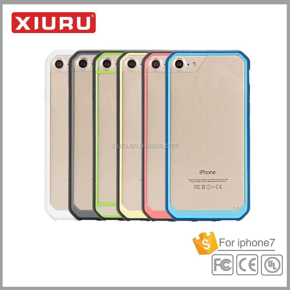 Hot sale hard back cover crystal clear mobile phone case for iphone 6 for iphone 6 plus