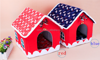 Merry Christmas pets house, doghouse, cathouse, kennel in stock