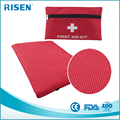 Wholesale Red Nylon Medical Waterproof Mini First aid Kit Bag with Accessories First Aid bag Emergency First Aid Kit