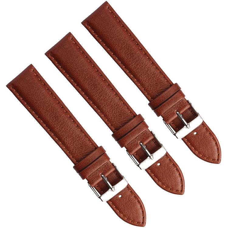 Genuine sharp Leather hand watch Band For Men