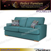 Living room wooden furniture new model wooden fabric sofa sets.