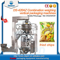 Multifunction automatic bag corn chips packaging machine