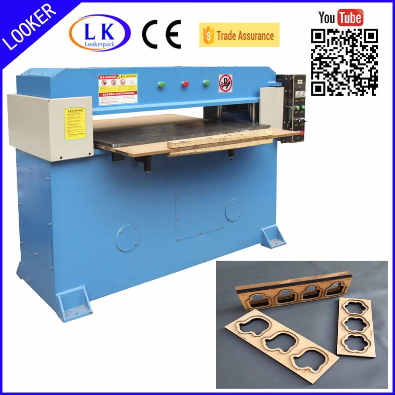 Manual hydraulic plastic blister tray die cutting machine