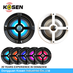 "6.5"" waterproof marine speaker with RGB board in cheap cost for marine/UTV/ATV"