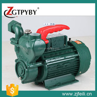 China Manufacturer Low Pressure ZDB Self priming Water Pump Home Use
