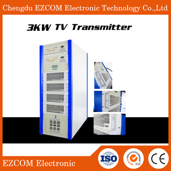 Hot Sale professional solid state 3kw UHF TV broadcast transmitter
