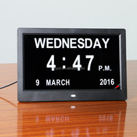 2016 warm hearted directly supply digital night light clock with latest popular design