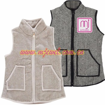 Wholesale herringbone kids vest
