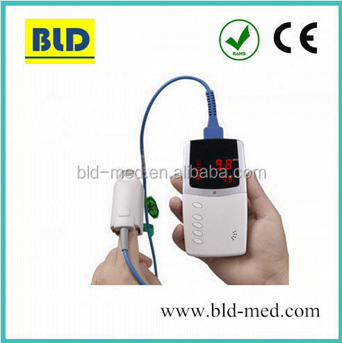 Long working hours pediatric portable pulse oximeter