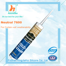 foshan curtain wall weatherproof neutral silicone sealant