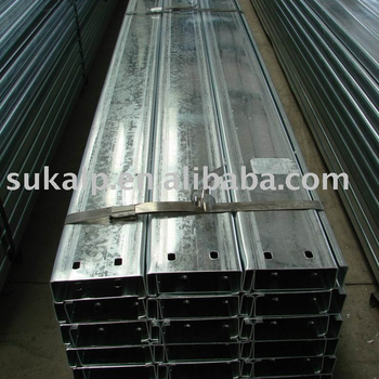C Section Steel purlin