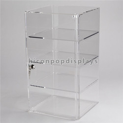 Branded bracelt store transparent acrylic jewelry display case