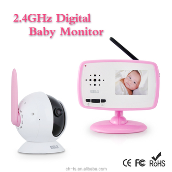 2.4GHz LCD Baby Monitor Camera with Night Vision,Wireless Video Baby Monitor, 2 way communication