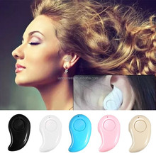 New wireless Stereo earphone Headphones S530 blue tooth ear phones v4.0 mini S530 bluetooth headset for smart phone