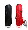 Nylon foldable travel bag cover with wheels
