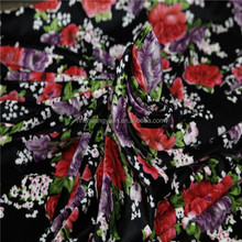 Good Selling African Style Velvet Fabric For Roses Dress For Fleece Garment