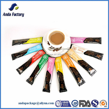 Plastic Coffee Stick Packaging Pouch/Coffee Sachet Packaging Pouch