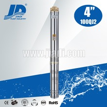 High capacity electric three phase 100QJ2 series submersible motor pump
