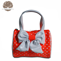 Factory Promotional Cheap Price Bow Tie Famous Brand Handbag