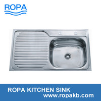 9050 royal stainless steel 201 and 304 good quality kitchen sink water tank