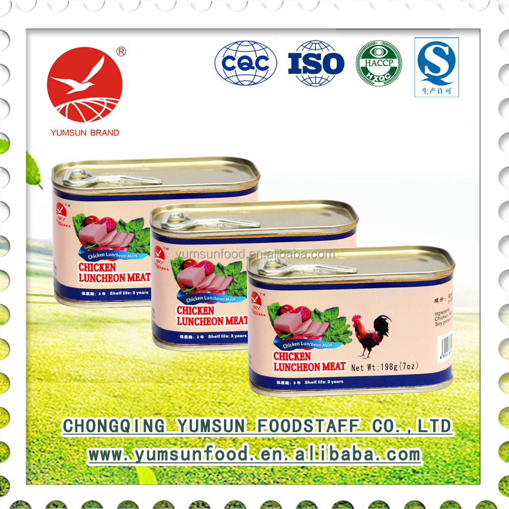 delicious chicken luncheon meat canned luncheon meat wholesale products