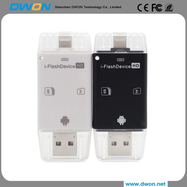 Free sample Alibaba otg pen drive 8GB 16GB 32GB 64GB USB 2.0 memory cards usb flash drive for pc ios windows as gift