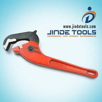 Rapid Grip Wrench, Heavy Duty Ratchet Pipe Wrench