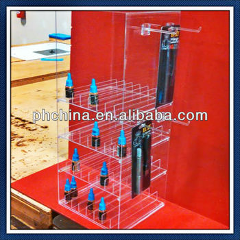 10 years factory sell SGS supplier acrylic e-cigarette display,e-cigarette holder,e-cigarette stand