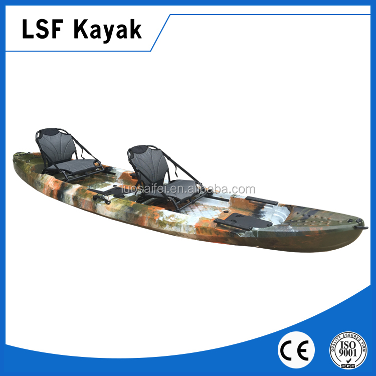 2 person fishing kayaks sale with aluminum frame seat
