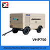 Doosan VHP750 diesel portable screw rotary air compressor