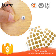 furniture accessoreis adhesive plastic screw caps/screw hole covers
