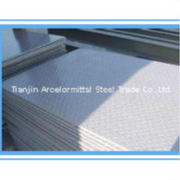DIN Standard Checkered Steel Plate Size From China
