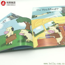 New Design Full Color Carton Childrens Book Printing Hard Cover