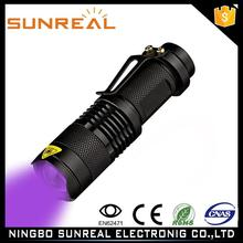 ALuminum Metal Ultraviolet Scorpion invisible ink pen with uv light