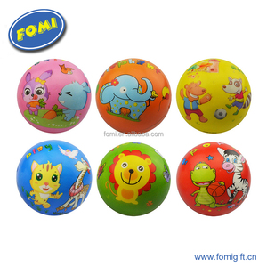 High Quality Colorful Soft PU Lovely Animal Print Stress Ball