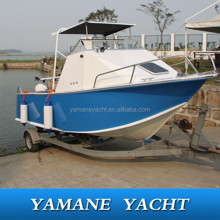 2015 new model cuddy cabin hard top fishing aluminum boat for Best aluminum fishing boat